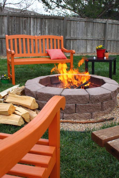 backyard fire pit camping ideas