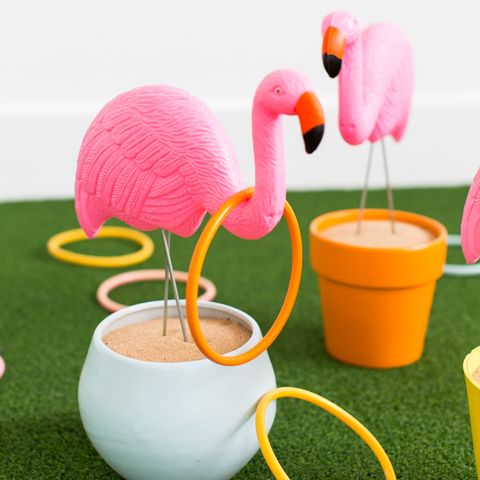 Backyard Games - Flamingo Ring Toss
