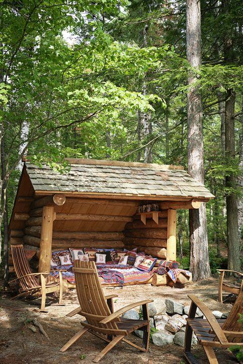 backyard ideas adirondack chairs camping