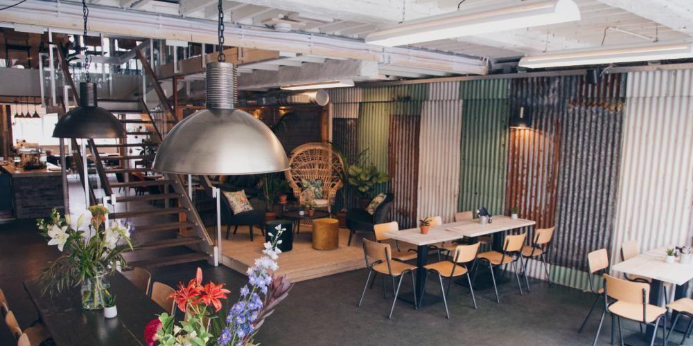 Backyard Rotterdam vegan restaurant