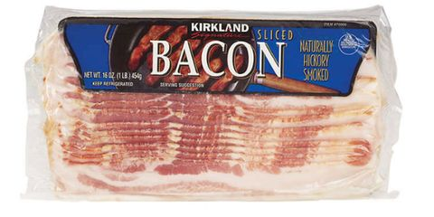 Food, Bacon, Animal fat, Back bacon, Dish, Ingredient, Pork, Cuisine, Beef, Meat,
