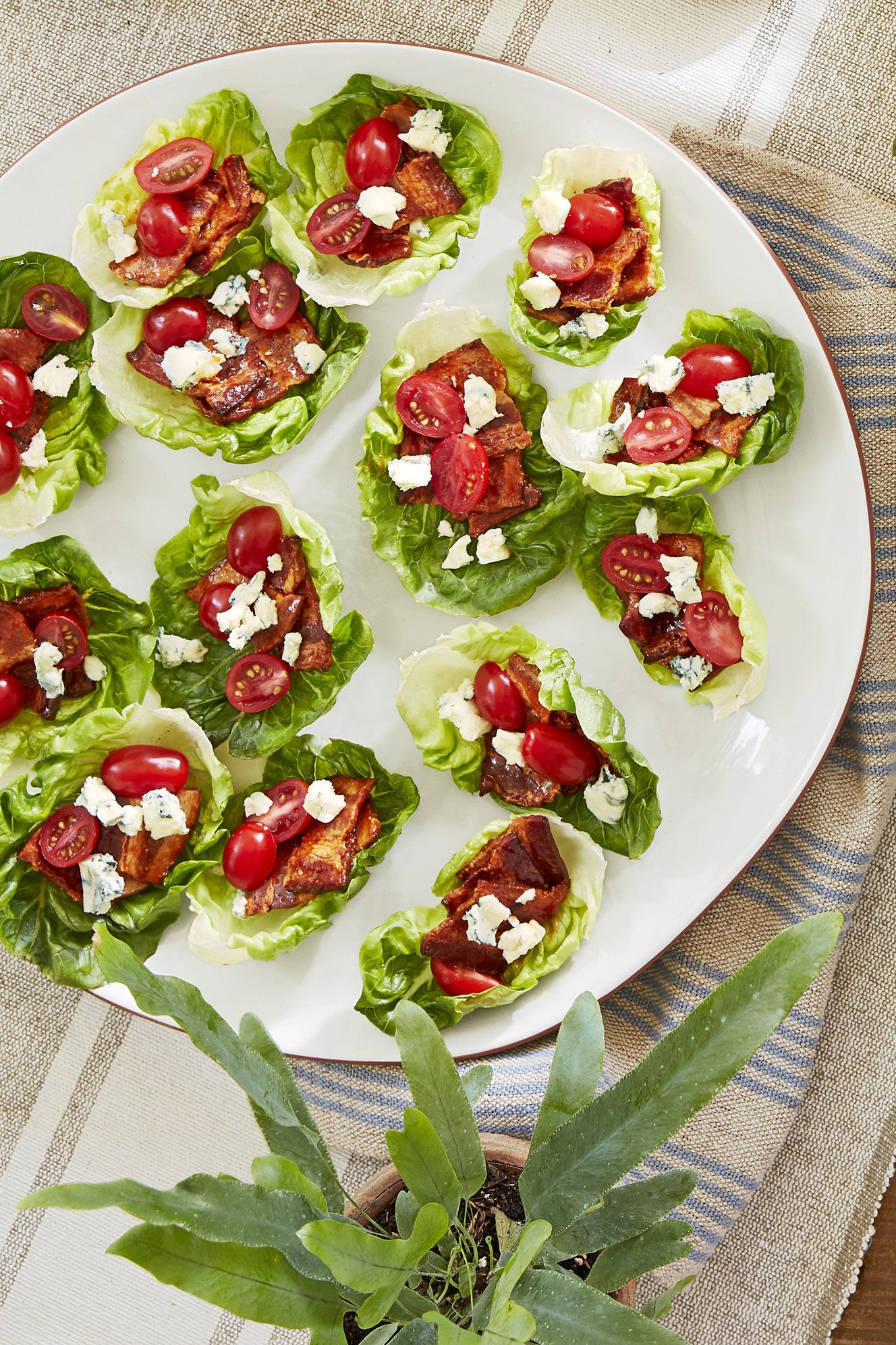 bacon lettuce cups recipe