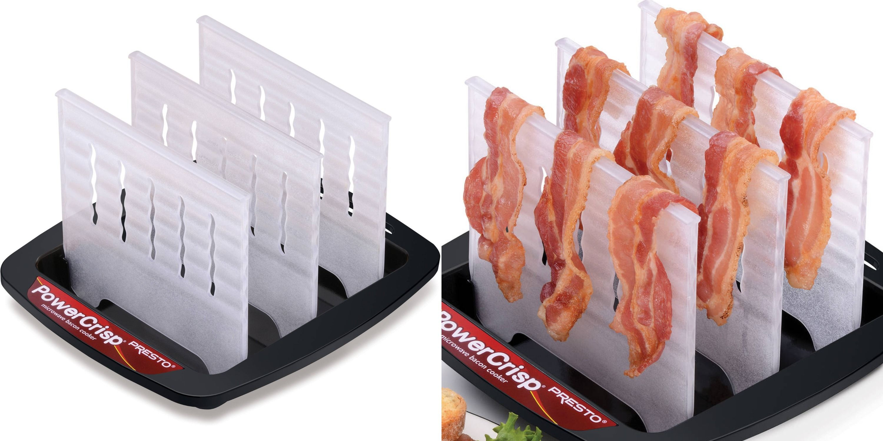 Walmart Is Selling A Tool That Helps You Make Crispy Bacon In The Microwave Without A Mess