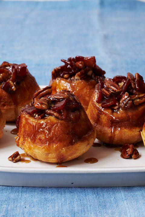 Kid-Friendly Breakfast Recipes -Maple Bacon Pecan Sticky Buns