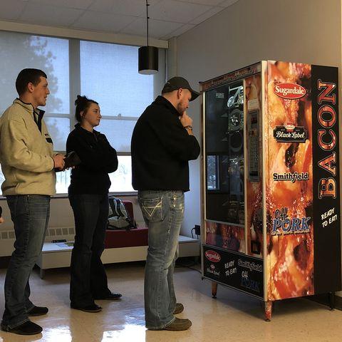 Bacon Vending Machine Ohio State - Delish.com