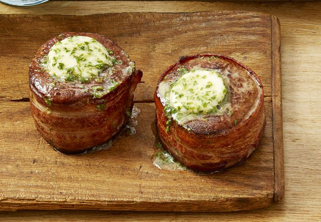 Bacon Wrapped Filet Recipe How To Make Bacon Wrapped Steak
