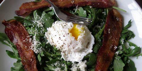 Ravenous Runner Bacon and Egg Salad