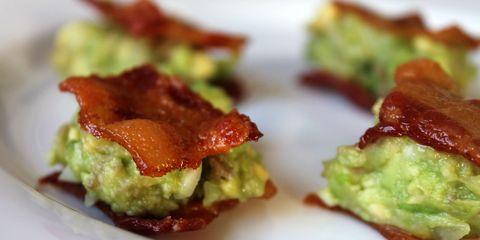 Ravenous Runner Bacon Guacamole Sammies