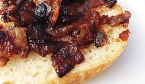 bacon jam topping