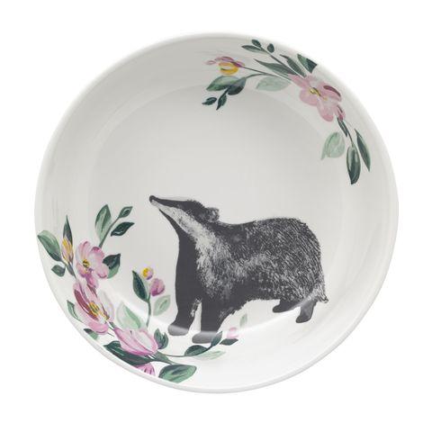 Badger Pasta Bowl £10 - Cath Kidston