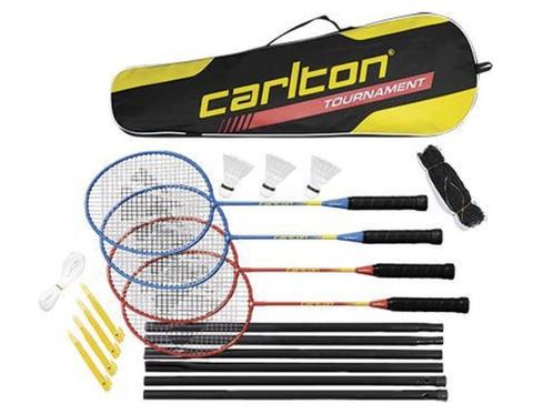 badmintonset 4 personen buiten