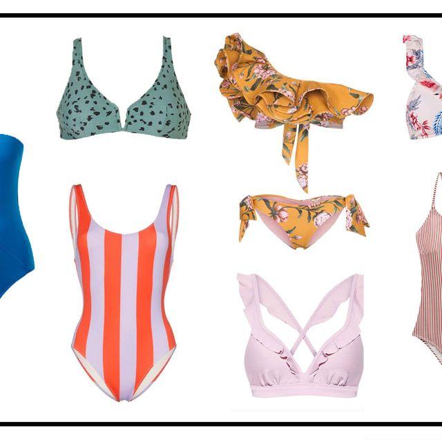Badpak Wehkamp.Badmode Trends 2019 Deze Bikini S En Badpakken Dragen We Deze Zomer