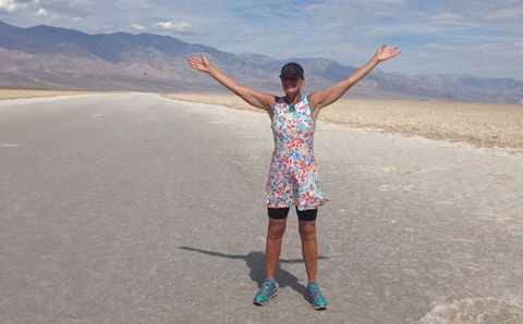 """Runner Completes Incredible 584-Mile """"Quad Badwater"""""""