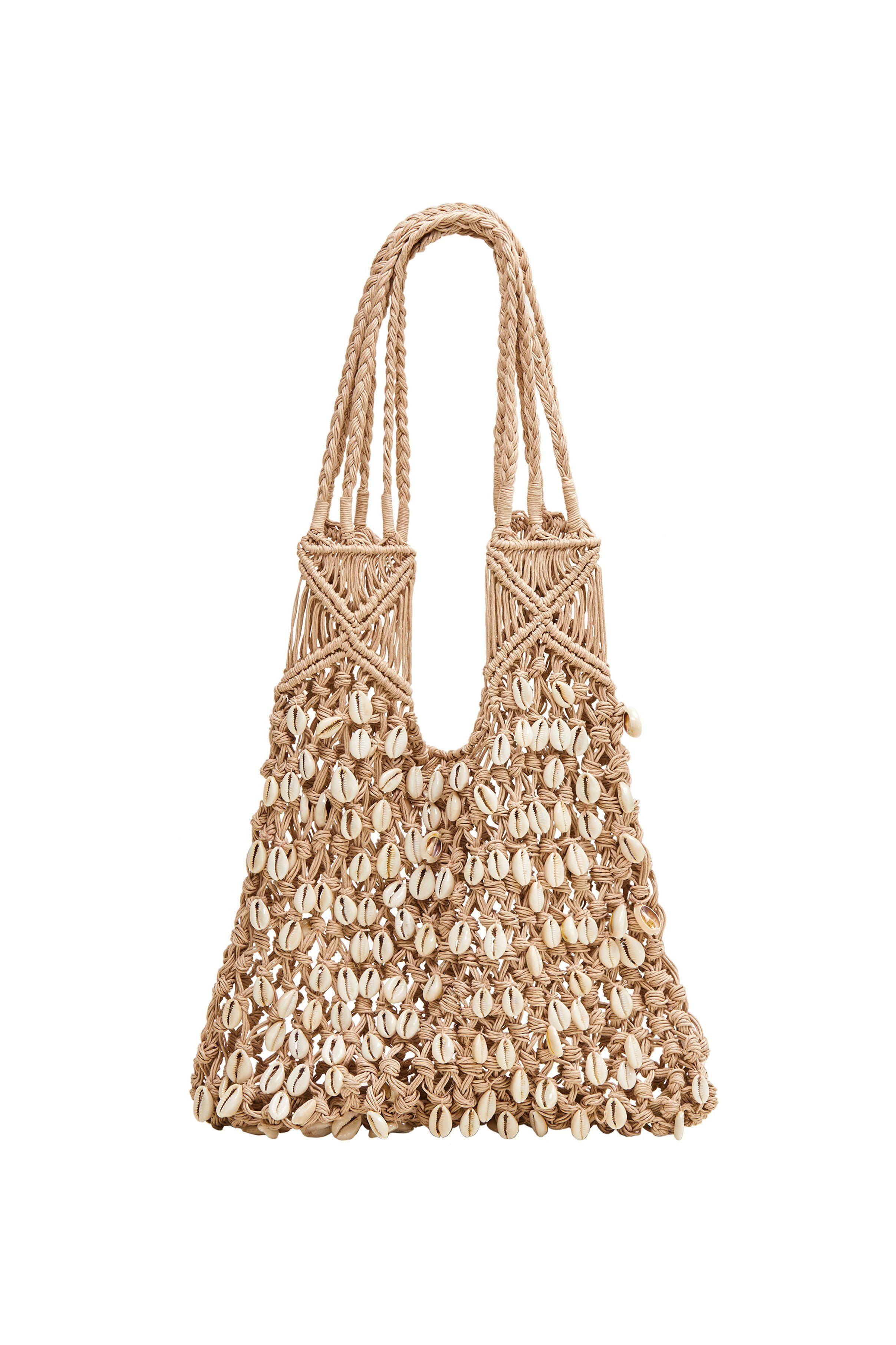 Mango sea shell net bag