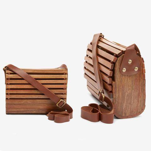 next wooden bag
