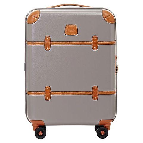 Product, Brown, Orange, Metal, Baggage, Rectangle, Tan, Beige, Maroon, Rolling,
