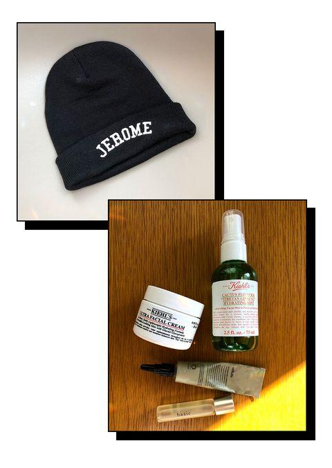 Beanie, Cap, Clothing, Knit cap, Product, Headgear, Bonnet, Room, Brand, Liquid,