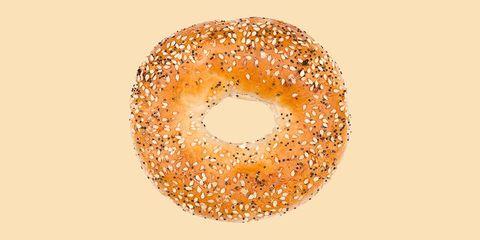 Bagel, Food, Baked goods, Bread, Doughnut, Cuisine, Simit, Ciambella, Dish, Cider doughnut,