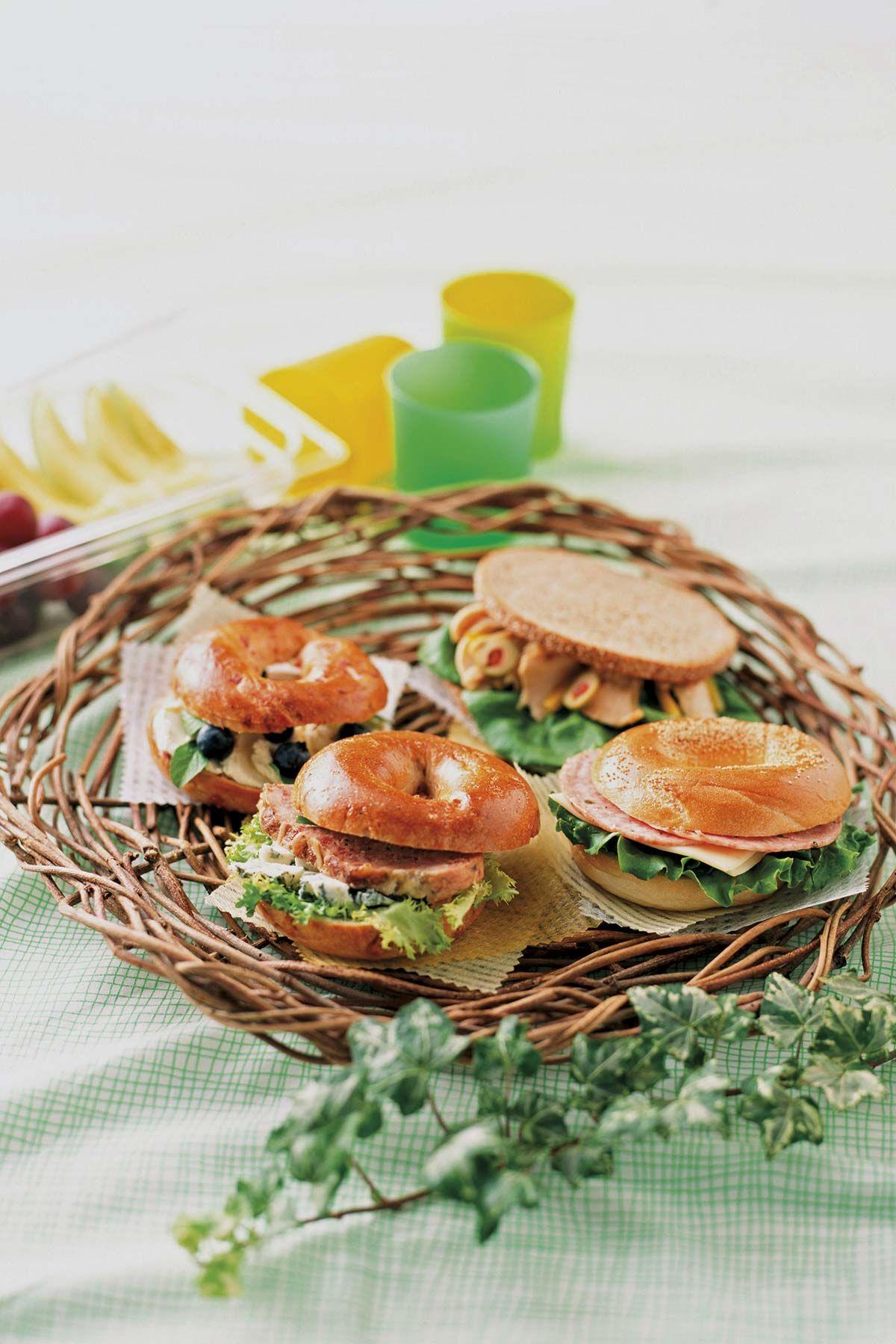 Recetas para picnic: Bagels neoyorquinos