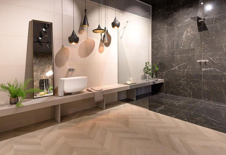 Ceramiche keope e il grès a forma di mattoncino u pambianco design