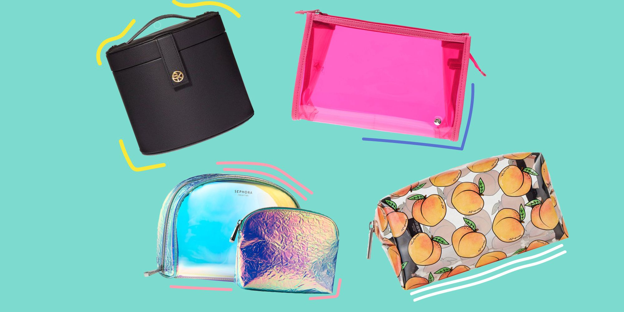 7fe51750b198 21 Best Makeup and Cosmetic Cases - Travel Makeup Bags