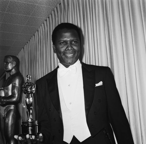 sidney poitier at the oscars