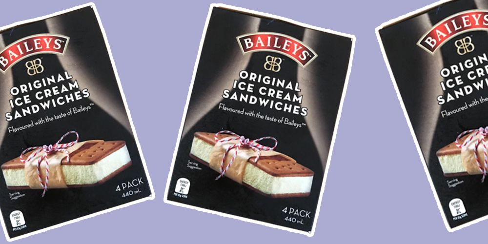 These Baileys ice cream sandwiches are a weekend necessity