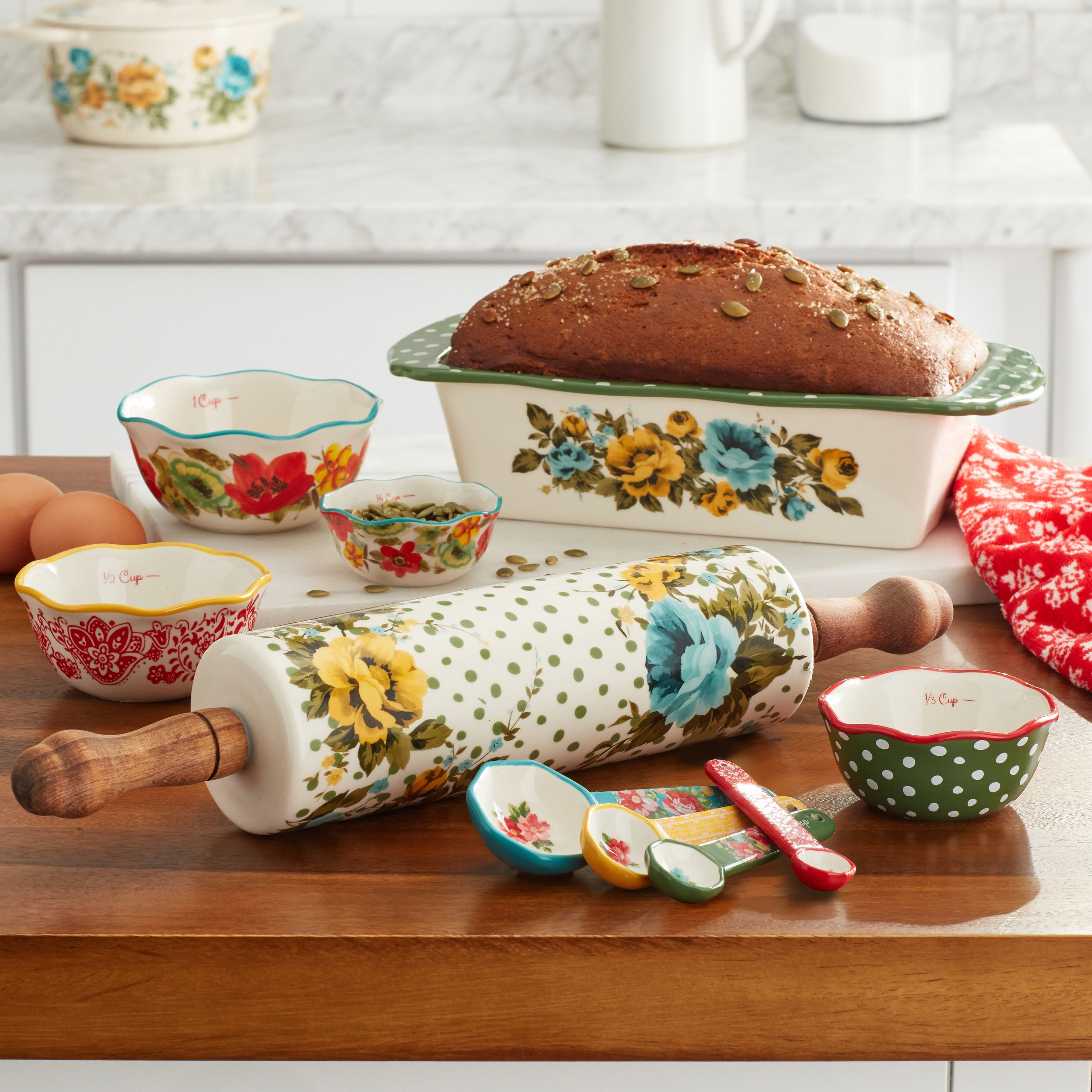 The Pioneer Woman Bakeware Combo Set At Walmart Where To Buy The Pioneer Woman Bakeware Set