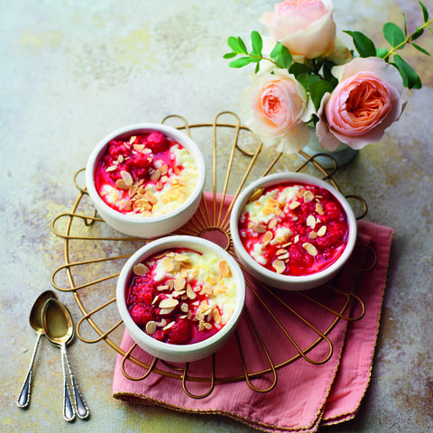 Bakewell rice pudding