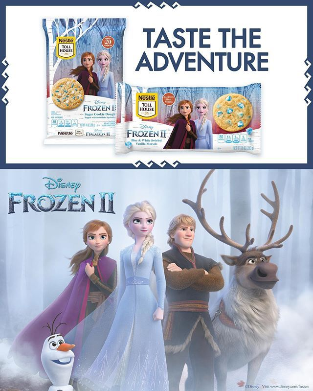 Nestle Gave Its Cookie Dough And Baking Morsels A Makeover In Honor Of 'Frozen 2'