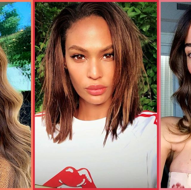 20 Balayage Dark Brown Hair Ideas On Celebrities For 2019