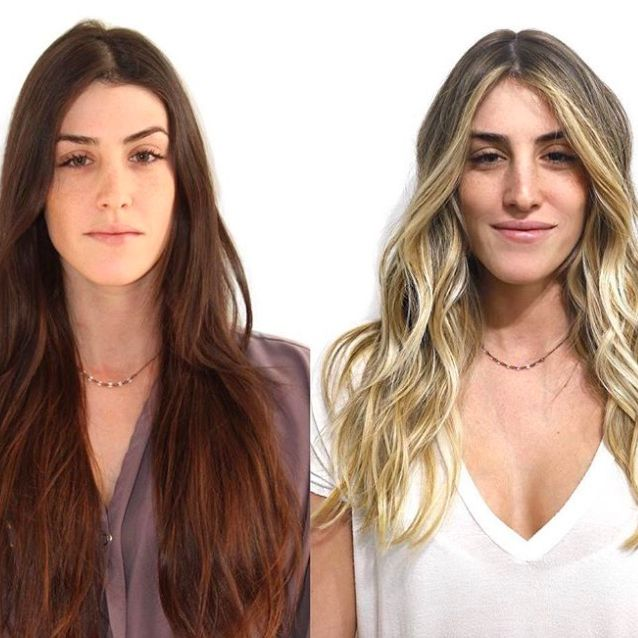Balayage Highlights 2019 What Is Balayage 19 Before And
