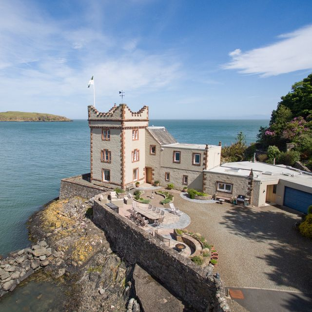 balcary tower is for sale in dumfries  galloway, scotland