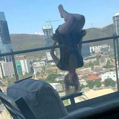 Yogi Alexa Terrazas Falls From Balcony