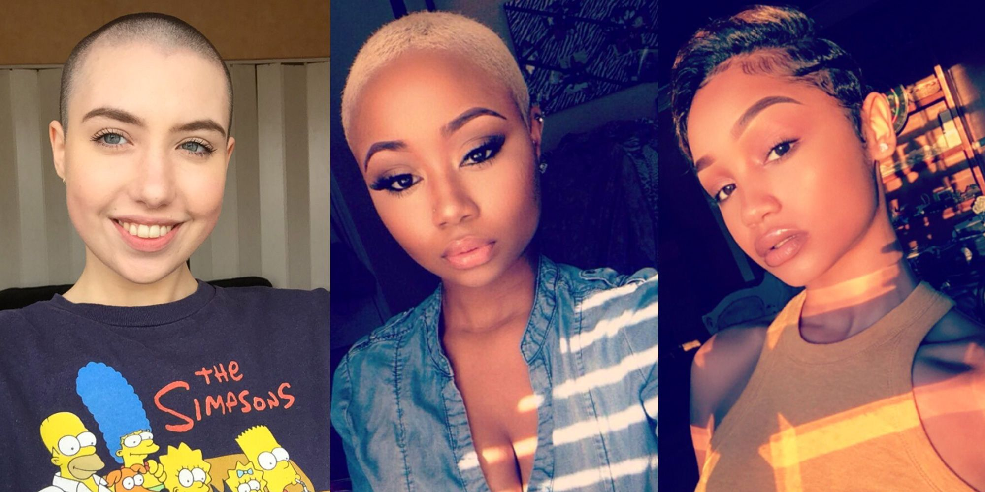 Women On Twitter Are Showing Off Their Beautiful Bald Haircuts For The Most  Powerful Reason