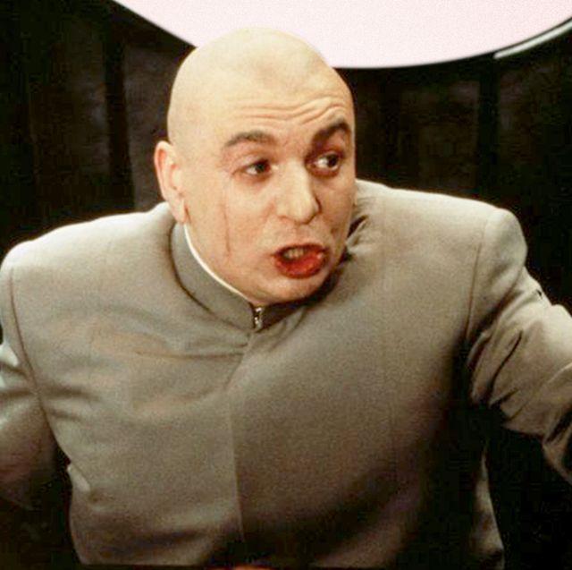bald halloween costumes dr evil