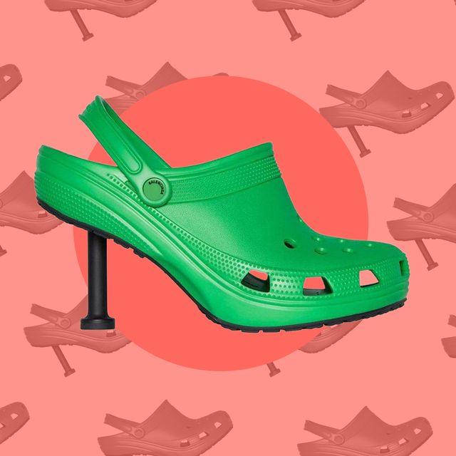 balenciaga croc stiletto heel shoes