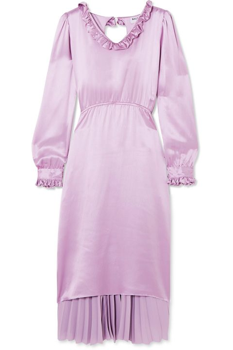 Lilac wedding-guest outfits