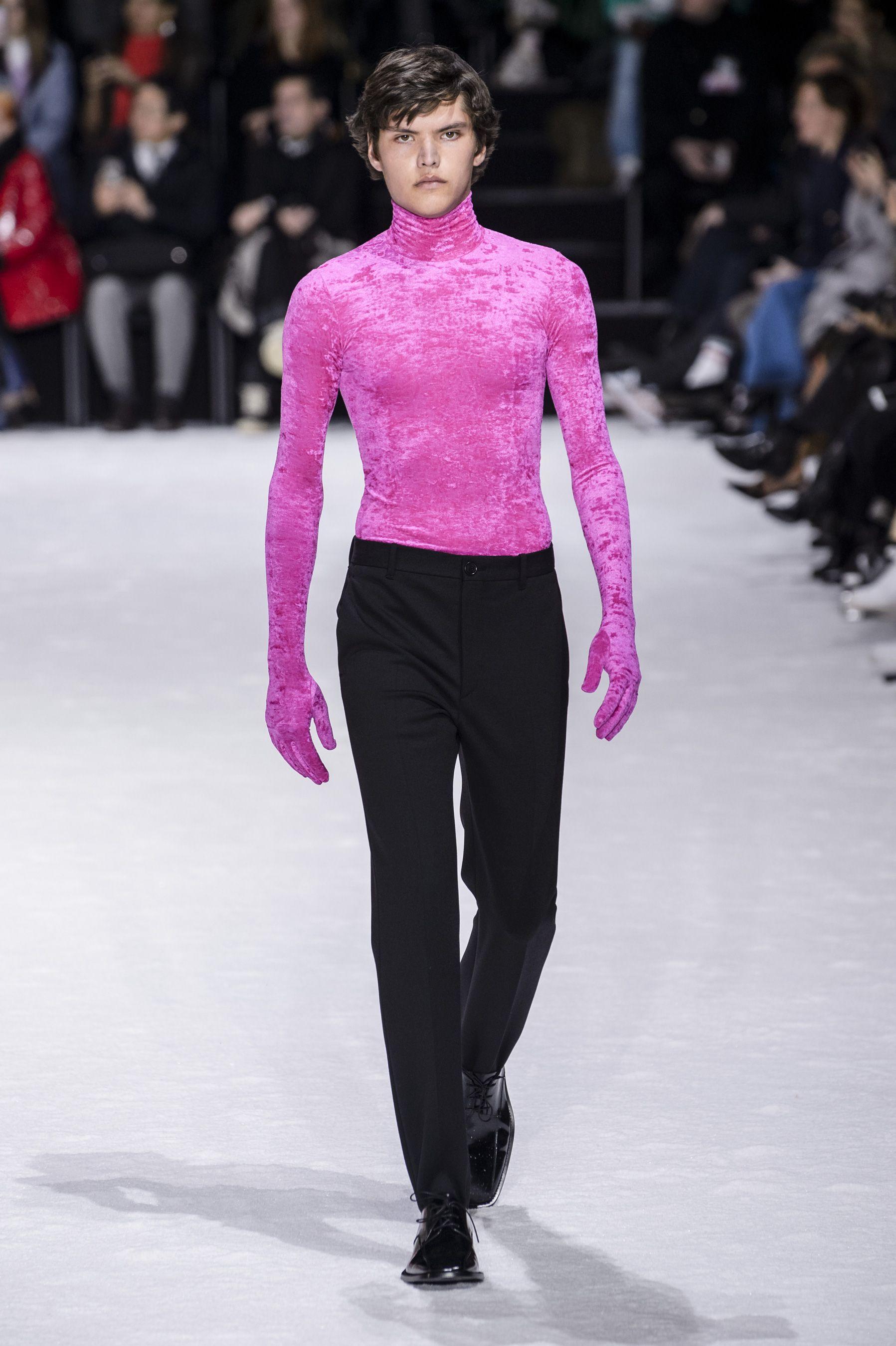 balenciaga fashion show 2018