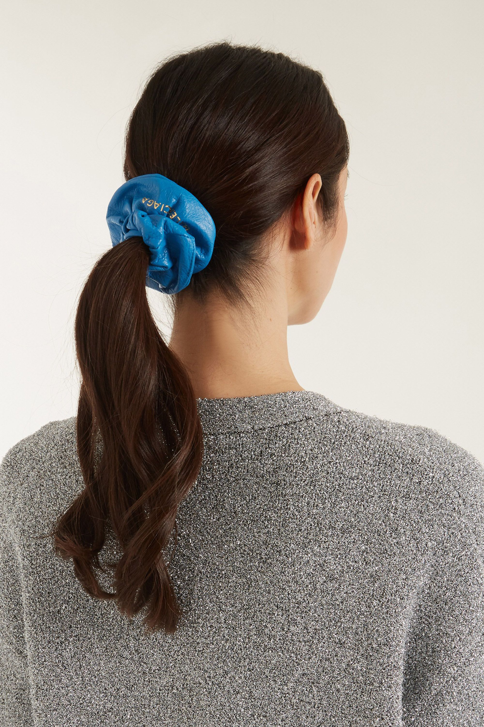 balenciaga is now selling a hair scrunchie for 145