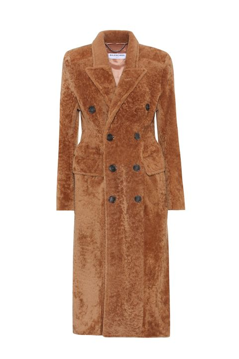 Clothing, Coat, Trench coat, Outerwear, Overcoat, Brown, Sleeve, Tan, Beige, Robe,