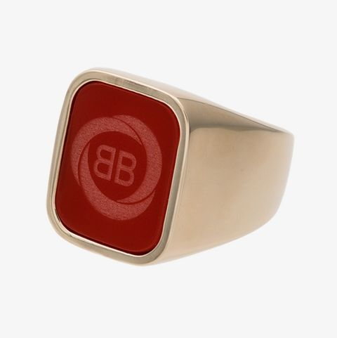 Balenciaga signet ring
