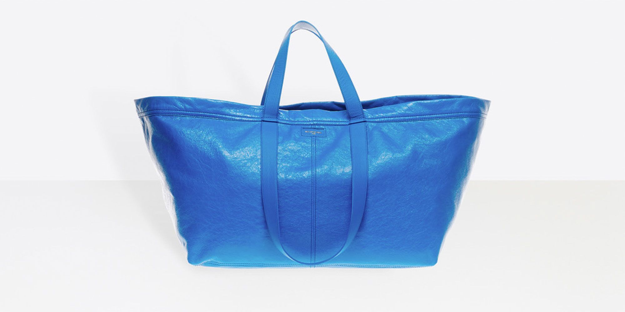 This £1,672 designer tote looks just like Ikea's 40p carrier bag