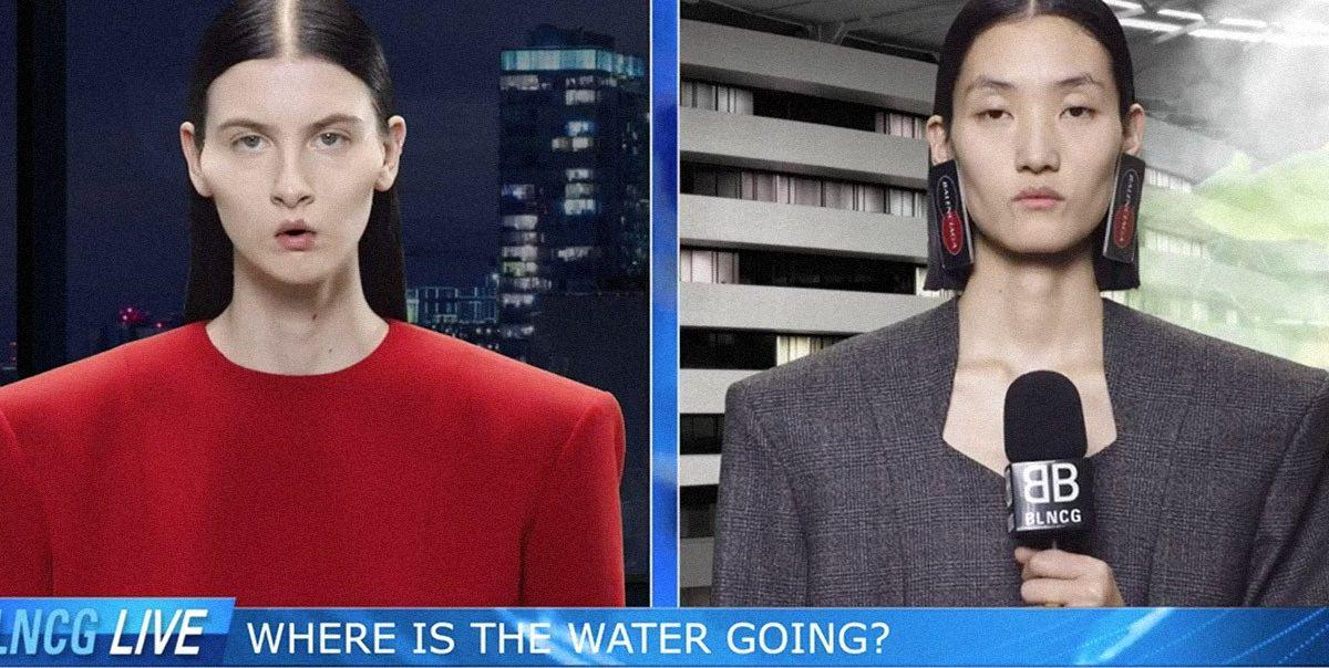 Balenciaga Releases a Bizarre News Broadcast for Latest Campaign Video