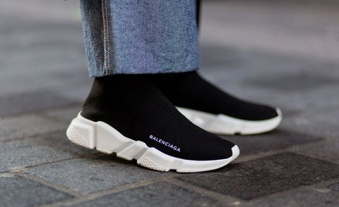 Supreme X Balenciaga Speed Stretch Knit Mid Sneaker