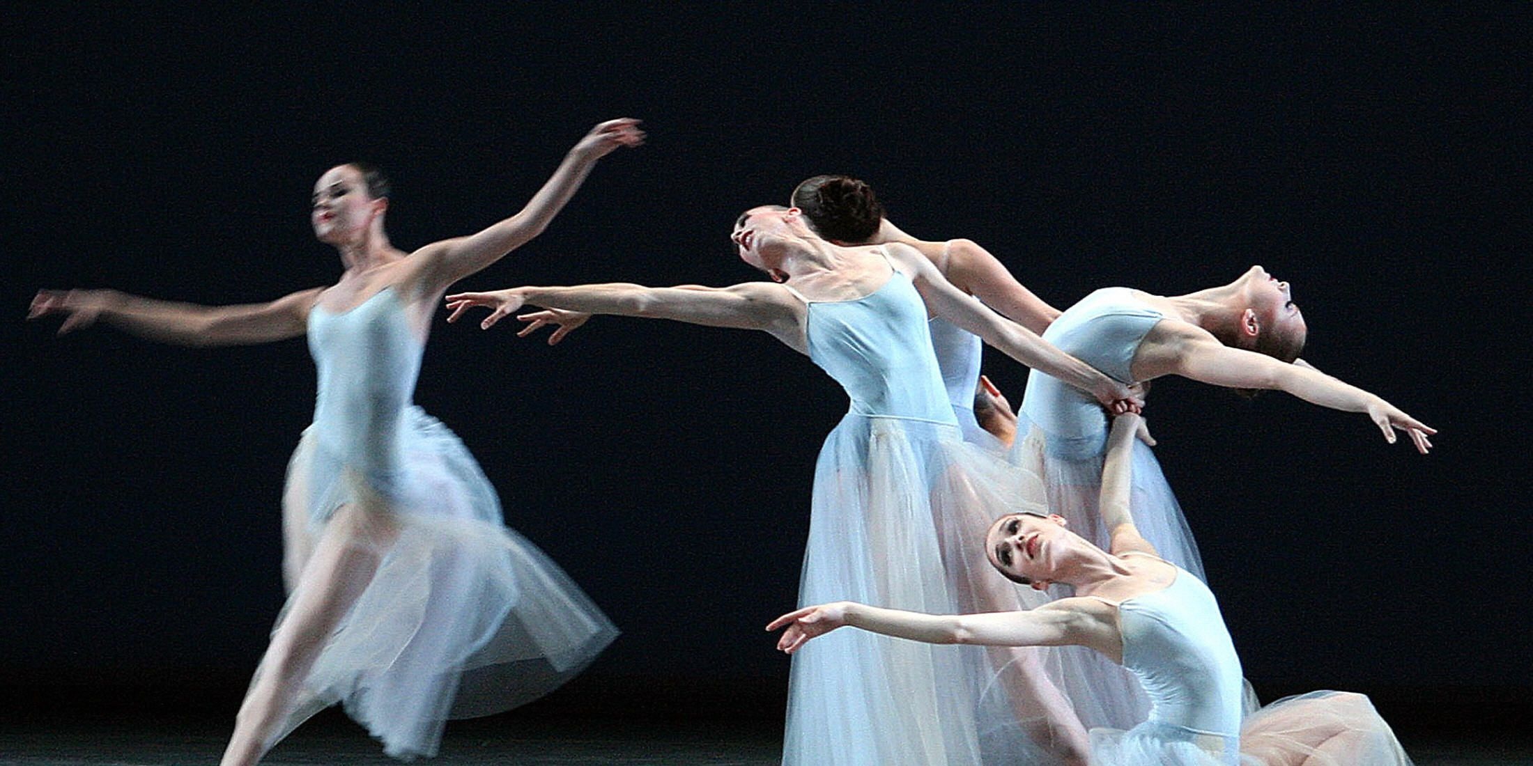 Balerinas of New York City Ballet troupe