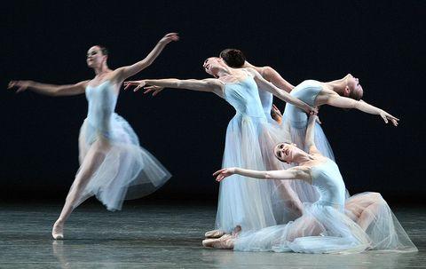 Balerinas of New York City Ballet troupe