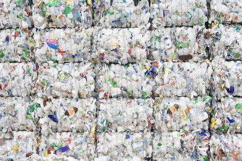 Plastic, Waste, Recycling, Pattern,