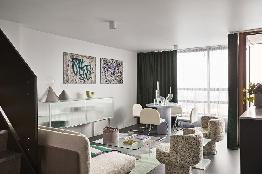 New luxury apartments unveiled in London's Balfron Tower