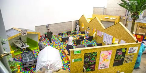 Boss Turns Office Into Giant Ball Pit